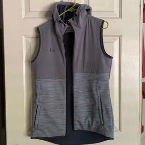 Grey Under Armour Swacket Vest